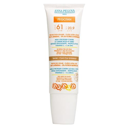 Protetor Solar Facial Pegotan FPS 51 UVA/UVB >370nm Anna Pegova - 50g