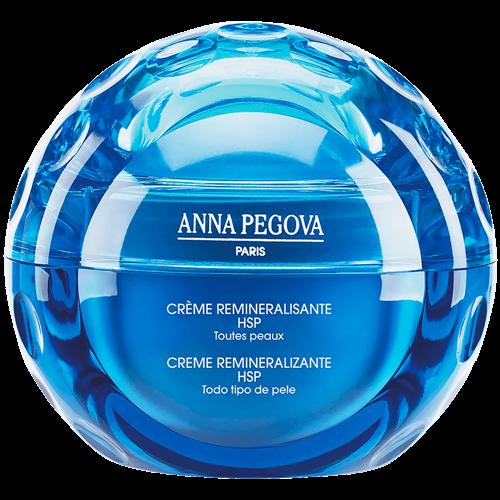 Creme Facial Reparador Revitalizante Anna Pegova - Crème Reminéralisante HSP e Prebiótico