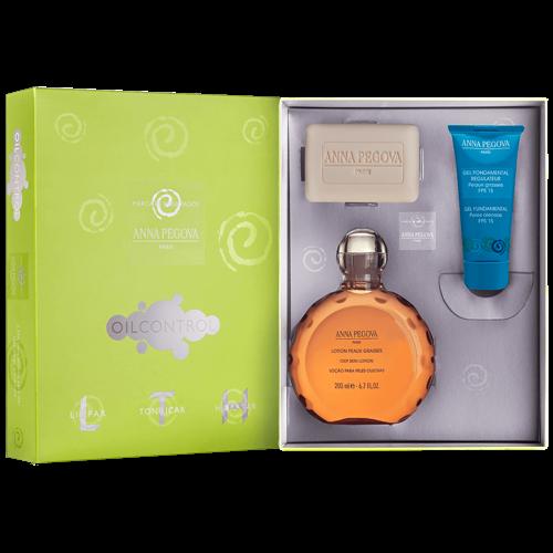 LTH - Limpar Tonificar e Hidratar para peles oleosas Anna Pegova